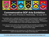 Commemorative SOF Arts Exhibition - June 2015 - small