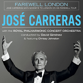 Chrissy Johnston - concert with Jose Carreras poster - small
